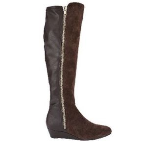 CLEARANCE🔥ISAAC MIZRAHI LIVE OVER KNEE SUEDE BOOT
